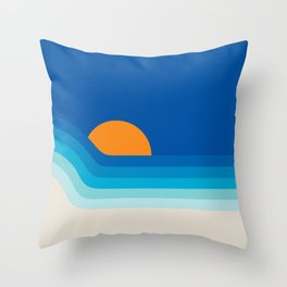Ocean Dipper Throw Pillow