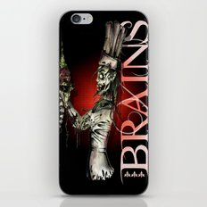 Zombie Pastry Chef iPhone & iPod Skin