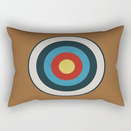 Vintage Target Rectangular Pillow