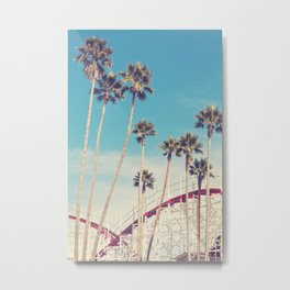 Feels Like Summer - Santa Cruz Metal Print