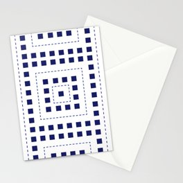 BLUE SQ Stationery Cards