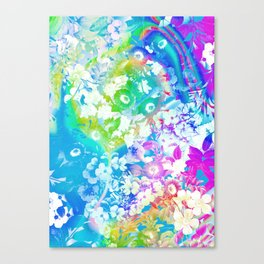 Forest Rave Canvas Print
