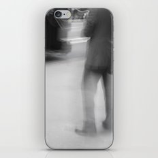 Catching The Bus iPhone & iPod Skin