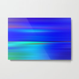 Night light abstract Metal Print