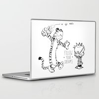 hobbes Laptop & iPad Skins featuring Follow Your Drams by Scott Tarbox