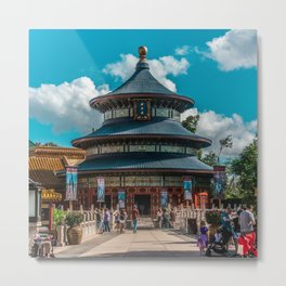 China Pavilion Metal Print