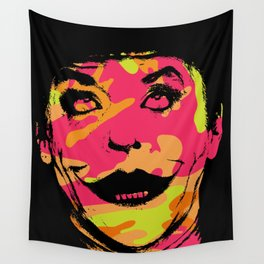 Super villain in disguise art print Wall Tapestry