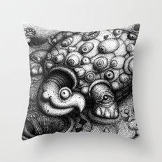 Eye Turtle Throw Pillow