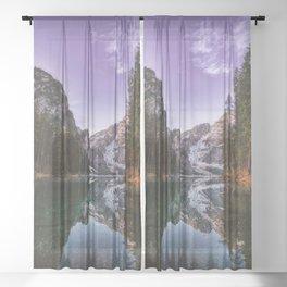 Destination: Solitude Sheer Curtain