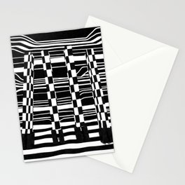 Black and White Giraffe Feet Stationery Cards