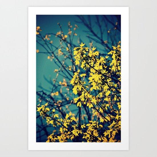 Neon Trees Art Print