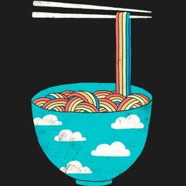 Art Print - Rain-Bowl - I Love Doodle