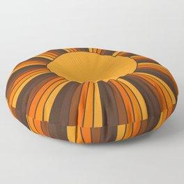 Golden Sunshine State Floor Pillow