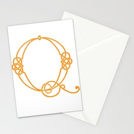 Celtic Knot Initial Q Stationery Cards