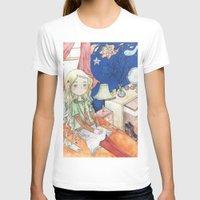 luna lovegood T-shirts featuring Luna Lovegood by malipi