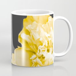 Yellow Flowers On A Dark Background #decor #society #homedecor Coffee Mug