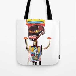 Homage to Basquiat Untitled Tote Bag