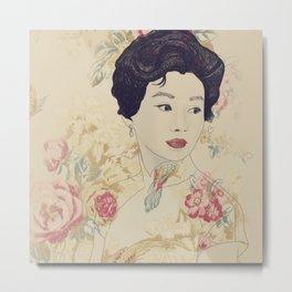 Mrs. Chan Metal Print