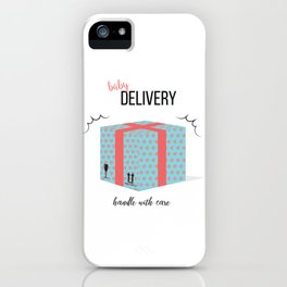 Baby delivery iPhone Case