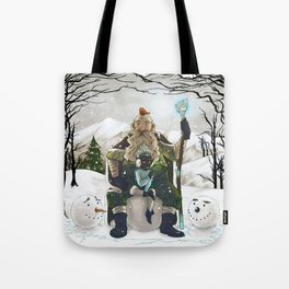 Witch and Wizard of Winter Tote Bag