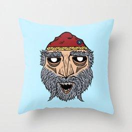 Dacian Rulers: Burebista Throw Pillow