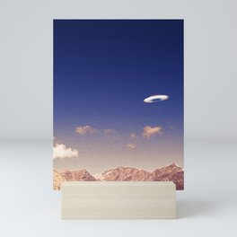 The sighting of an unidentified flying object, part I Mini Art Print