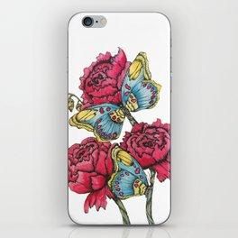 Color Flutter II iPhone Skin