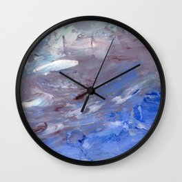 """""""Then I Saw the Beach"""" Wall Clock"""