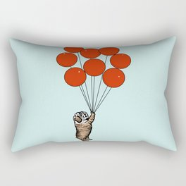 I Believe I Can Fly English Bulldog Rectangular Pillow