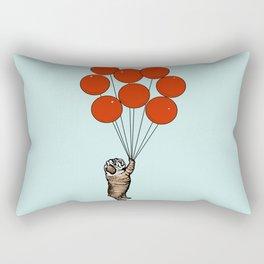 I Believe I Can Fly English Bulldog Rectangular Pillow