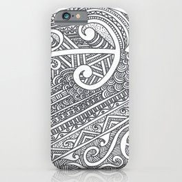 Koru iPhone Case