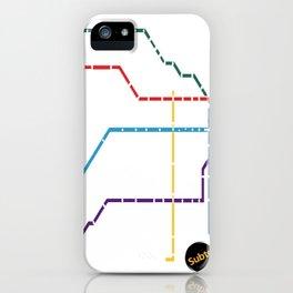 Buenos Aires Subte iPhone Case