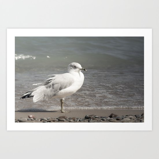 Beach Day Art Print