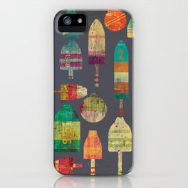 Buoy nautical artowrk  iPhone Case