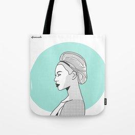 Profile B Tote Bag