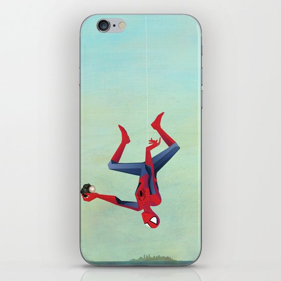 Superior Selfie iPhone & iPod Skin