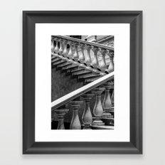 Vintage Stairs Framed Art Print