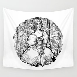 Girl Wall Tapestry