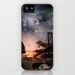 Dino Takeover iPhone Case