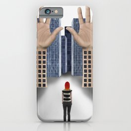 Your arms Like Towers, Tower over me iPhone Case