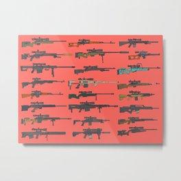 Snipers Metal Print