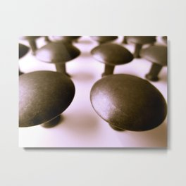 With Knobs On Metal Print
