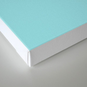 Solitude in blue Canvas Print
