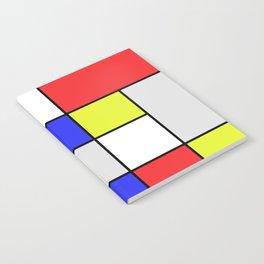 Mondrian #25 Notebook