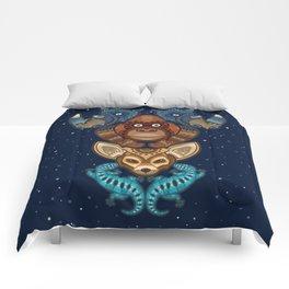 Animal Totem 7 Comforters