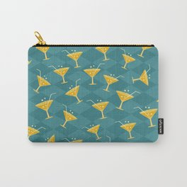 Retro Vintage Cocktail Pattern 4 Carry-All Pouch