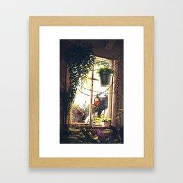 privy Framed Art Print