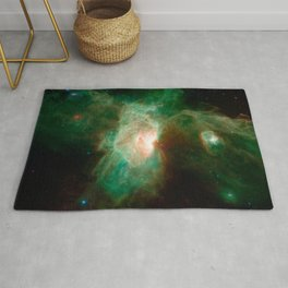 the horse becomes the phoenix | space 004 Rug