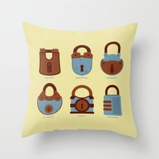 Evolution of Secrets Throw Pillow