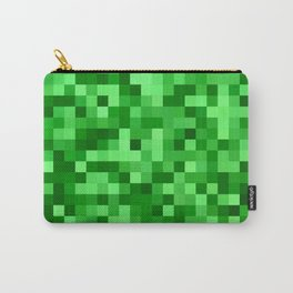 Mosaic in green tones Carry-All Pouch